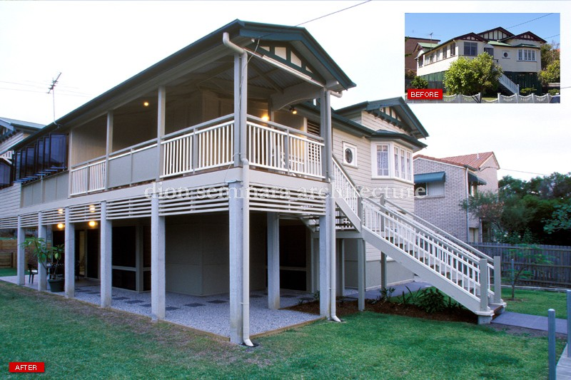 Renovate a queenslander or design a new queenslander for New home designs brisbane