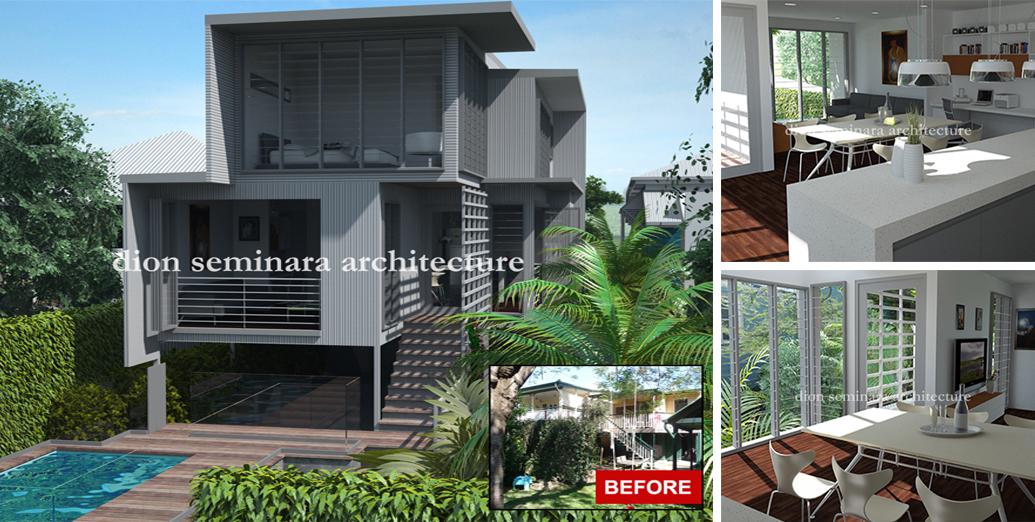 Brisbane family home renovation