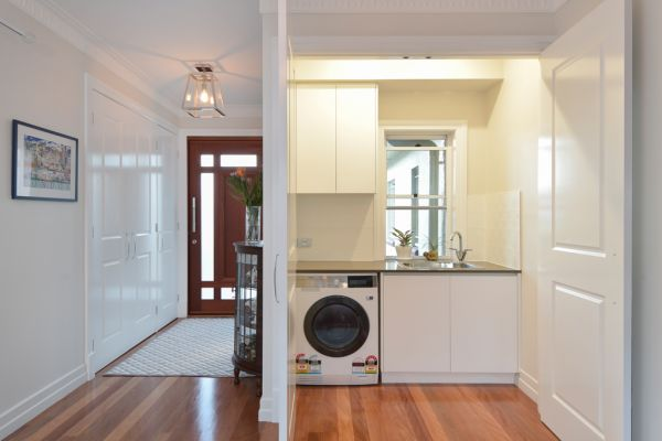camp hill home renovation laundry
